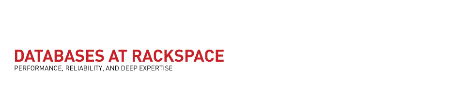 Databases at Rackspace