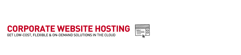 Corporate Website Hosting