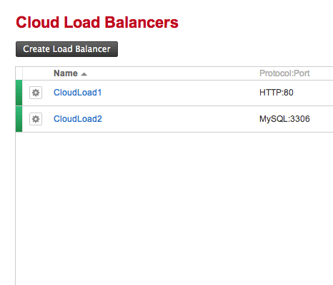 Add/Delete Load Balancers