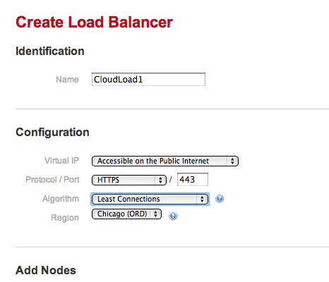 Create a Load Balancer