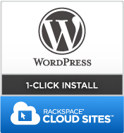 WordPress Hosting 1-Click Install with Cloud Sites