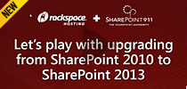 Let's Play with Upgrading from SharePoint 2010 to SharePoint 2013