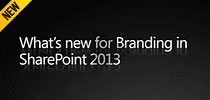 What's New for Branding in SharePoint 2013