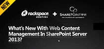 What's New with Web Content Management in SharePoint Server 2013